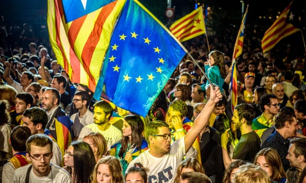 Narcissist Fading European Nations- Catalonia as Symptom
