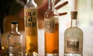 England's only rum distillery, the English Spirit Distillery in Essex, makes boutique rum.