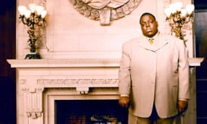 The Notorious BIG … Shot in the passenger seat of a GMC Suburban in March 1997.
