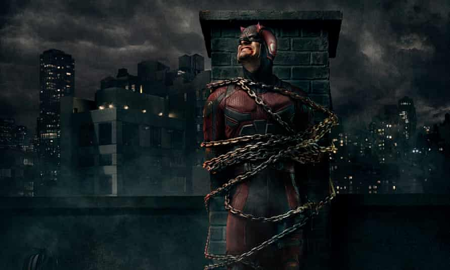 Charlie Cox as Matt Murdock, AKA Daredevil