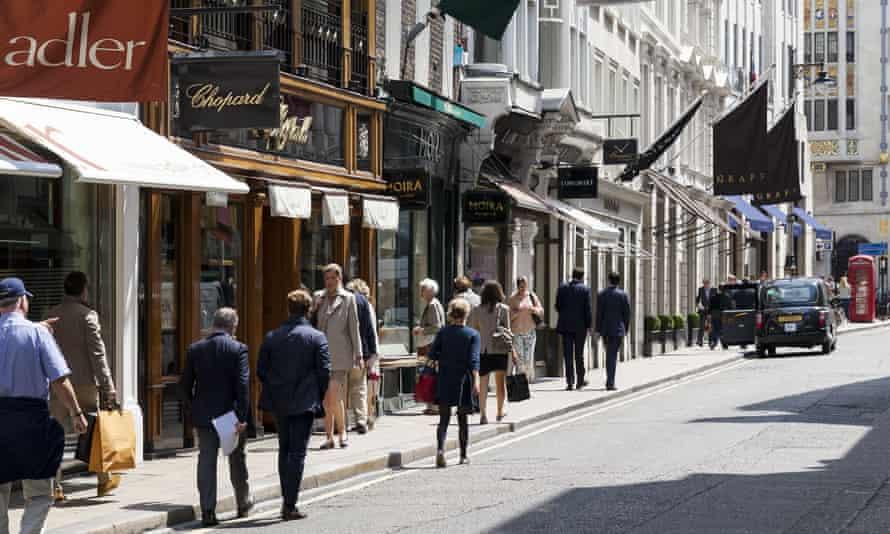 Bond Street.