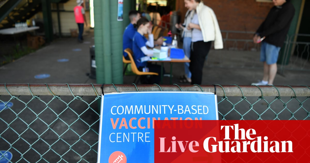 Australia news live update: Covid alert for Canberra after Sydney case visits, government defends vaccine rollout