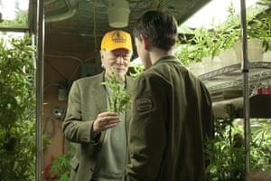 Plummer in his new film Boundaries.