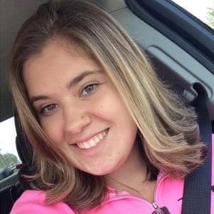 Bailey Schweitzer. A victim of the Las Vegas mass shooting on 2 October 2017