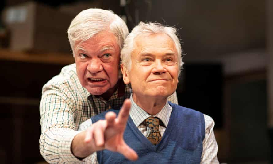 Matthew Kelly and David Yelland in The Habit of Art.