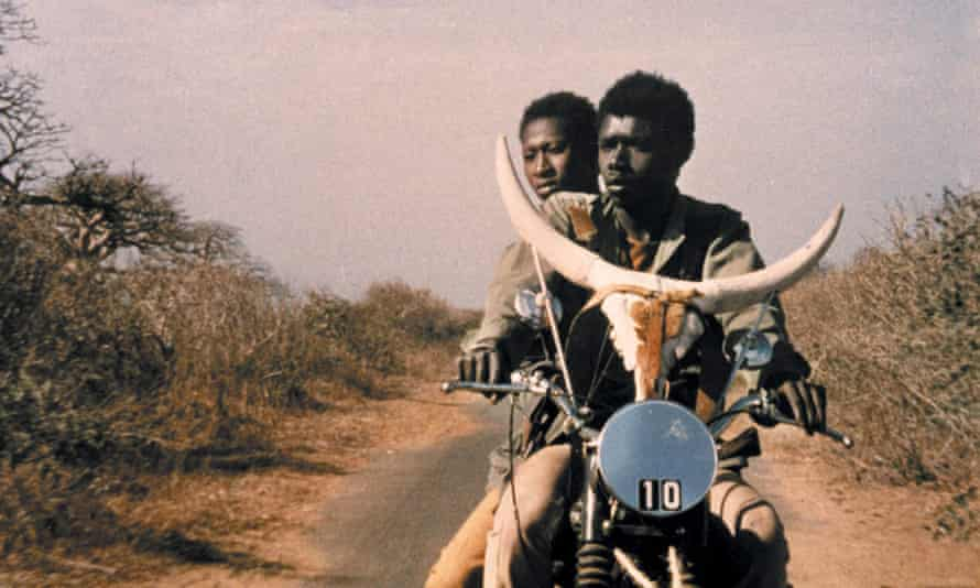 Magaye Niang as young cowherd Mory, and Mareme Niang as his girlfriend Anta in the 1973 film.