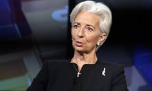 'I think it's an area where we all have to think outside the box because there are too many boxes in that tax field and thinking outside the box might be of great interest,' said Christine Lagarde, managing director of the IMF.