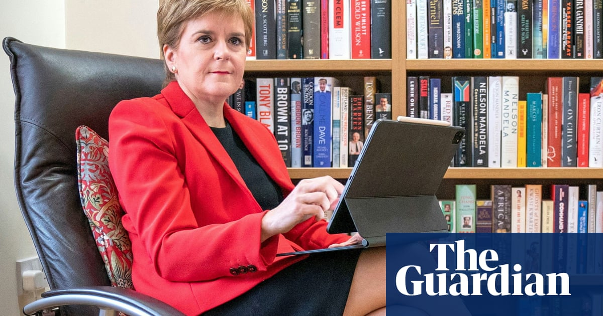 No independence referendum until Covid restrictions lifted, Sturgeon says