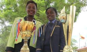 Prudence Zurumba and Yeukai Musorowegomo