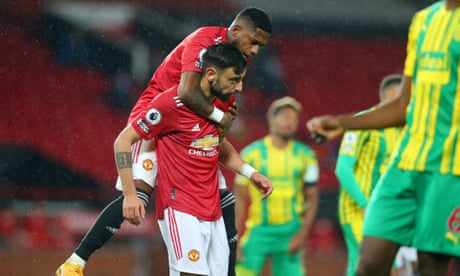Bruno Fernandes hits the spot to ensure Manchester United sink West Brom