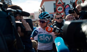 Chris Froome's participation in the Ruta del Sol has seen more attention than usual on the race which finishes in Barbate on Sunday.
