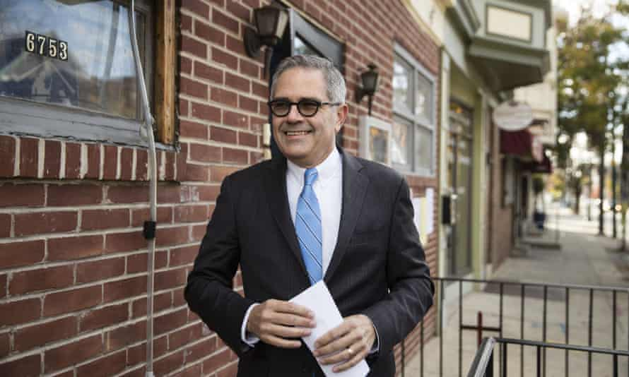 Philadelphia district attorney Larry Krasner is a darling for social justice activists and a hated villain for his powerful enemies.