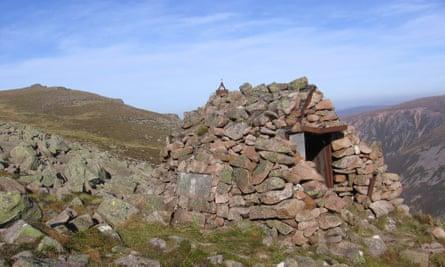 El Alamein Refuge, the Cairngorms, Scotland.