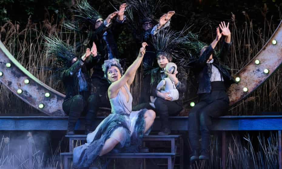 A Midsummer Night's Dream at Regent's Park Open Air Theatre.