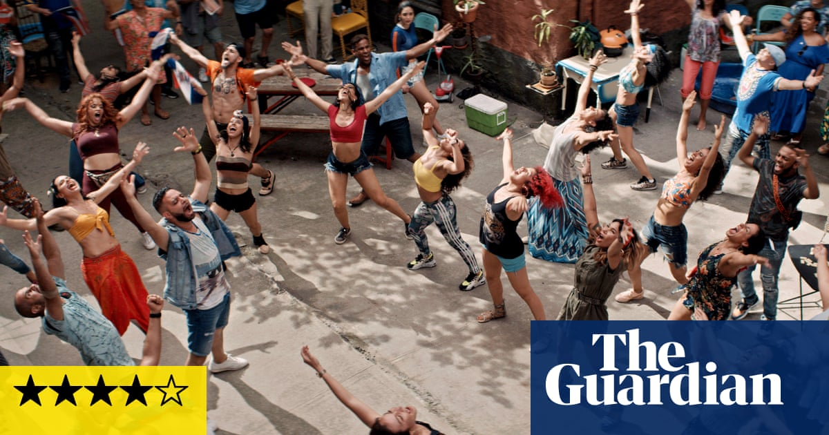 In the Heights review – a blast of sunshine, hope and hotpants