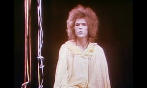 David Bowie in Lindsay Kemp's production of Pierrot in Turquoise in the 1970s.