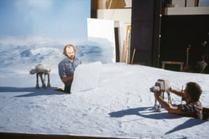 The Empire Strikes Back (1980) Animators Phil Tippett and Jon Berg create the Battle of Hoth on tabletops