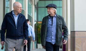 Michael Douglas (right) and Alan Arkin in The Kominsky Method, which is up for three Golden Globe awards