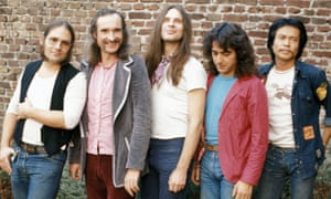 Can, with Holger Czukay second from left.