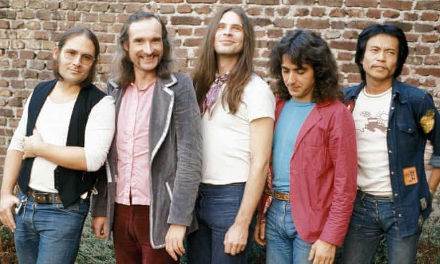 Irmin Schmidt with German rock group Can in 1970.