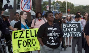 Elza Ford's shooting in 2014 led to a series of Black Lives Matters protests in Los Angeles.
