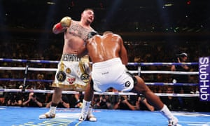 Andy Ruiz Jr stopped Anthony Joshua in June in New York to claim the IBF, WBA and WBO heavyweight titles.