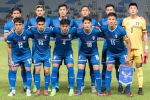 The Chinese Taipei football team.