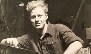 The Rev Tony Williamson in 1960, at work in the Pressed Steel car factory, Cowley, Oxford.