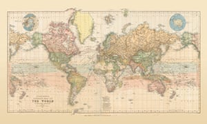 Off The Chart The Big Comeback Of Paper Maps Travel The Guardian