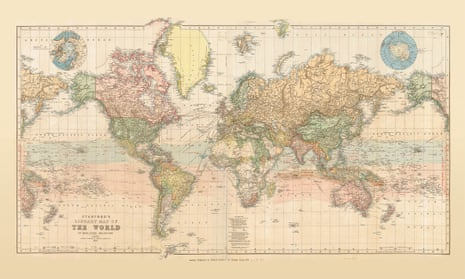 Stanfords map of the world from 1879.