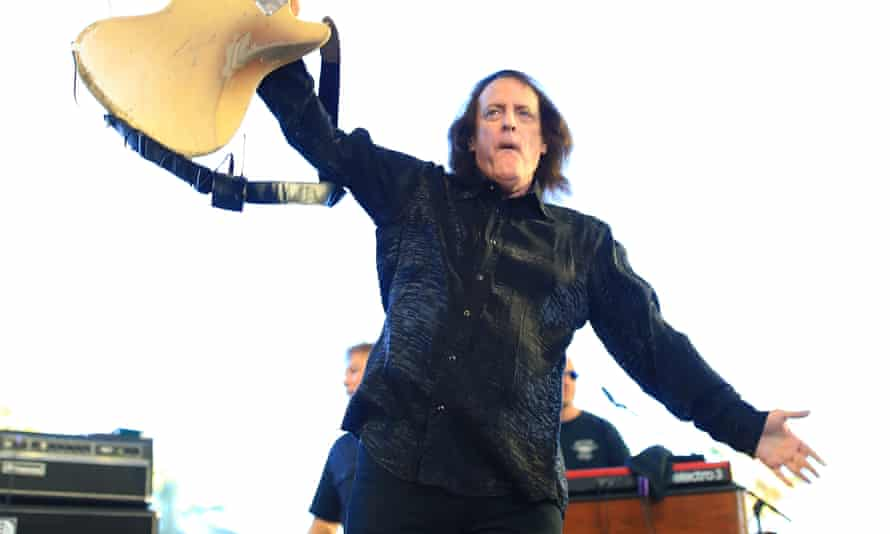 Tommy James & the Shondells at Stagecoach country music festival in California in 2017