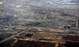 The Syncrude tar sands mine north of Fort McMurray, Alberta, Canada. Coronavirus outbreaks occurred at two other mines in Alberta in April.