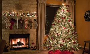 'A fake Christmas tree has some obvious advantages over the real thing.' Photograph: Holly Anissa Photography/Getty Images