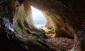 Paviland Cave, near Rhossili.