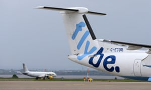 Flybe profitsFile photo dated 19/05/16 of a Flybe aircraft. The under-pressure regional airline Flybe is in talks about a possible sale of the group weeks after warning over profits. PRESS ASSOCIATION Photo. Issue date: Wednesday November 14, 2018. The Exeter-based carrier said it is also looking at cutting further costs and flight capacity as it battles challenging conditions in the airline industry. See PA story CITY Flybe. Photo credit should read: Tim Goode/PA Wire