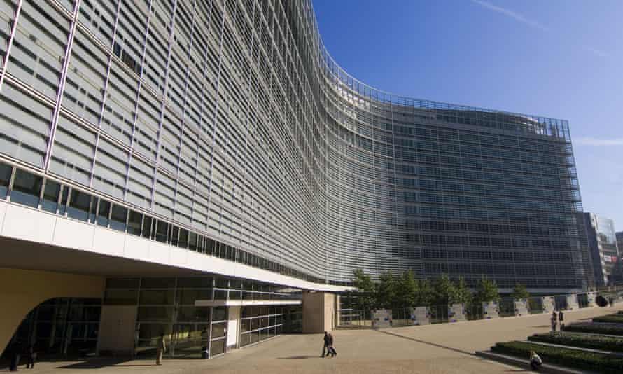 Palais Berlaymont, EU commission, Brussels