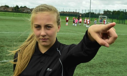 Referee Emily Dyke says verbal abuse has no place in football.