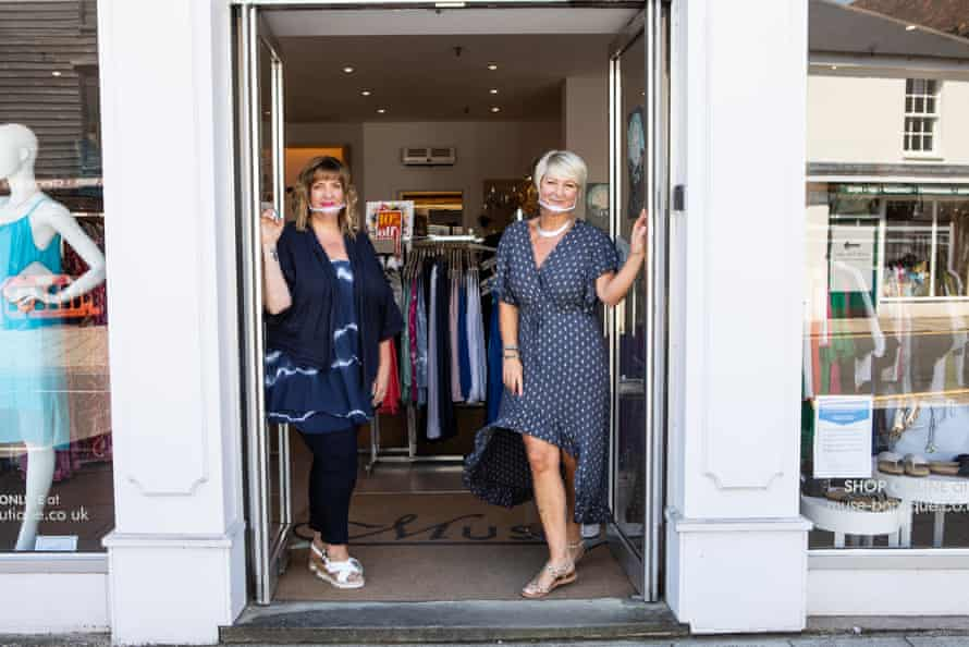 Jayne Ralph, left, and Katie Charman at Muse Boutique in Bishop's Stortford