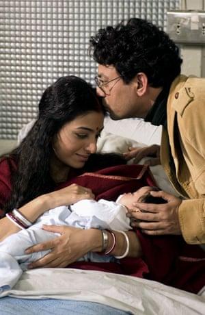 With Tabu in The Namesake (2006)