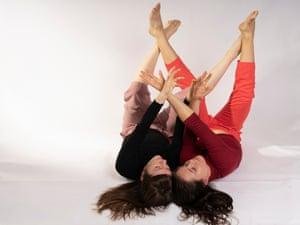 Choreographers Jan Veronika Coufalová and Lauren Waller in their 'euphoric' Wildflowers.