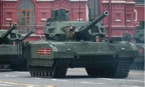 Russia's Armata T-14 battle tank.