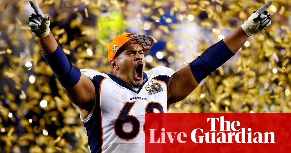 promo code 14f4d de470 Super Bowl 50: Carolina Panthers 10-24 Denver Broncos – as ...
