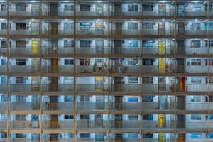 Wah Fu Estate. Pok Fu Lam, Hong Kong Island.
