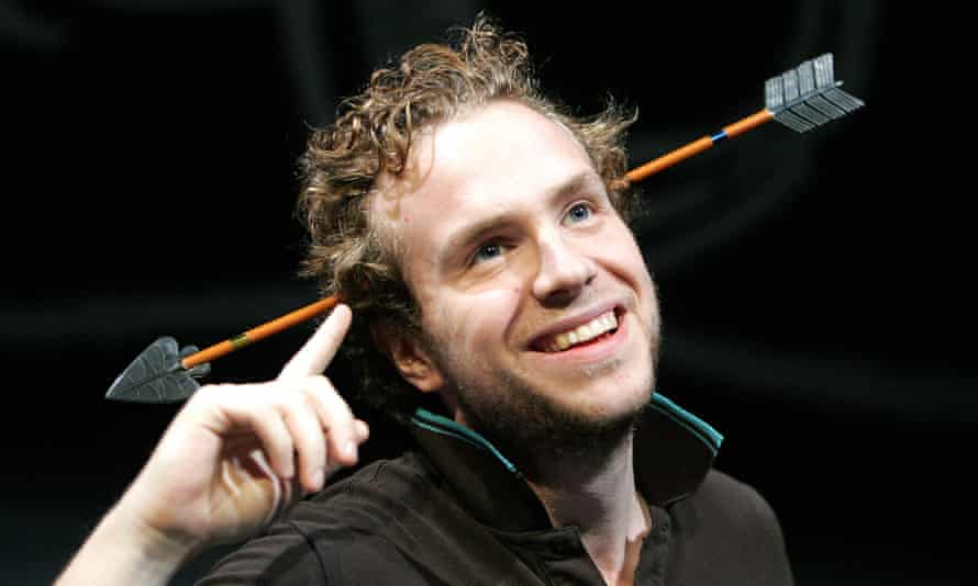 Turkey ... Rafe Spall in The Knight Of The Burning Pestle at the Barbican in 2005.