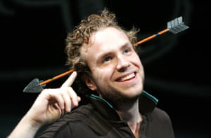 Rafe Spall in The Knight of the Burning Pestle
