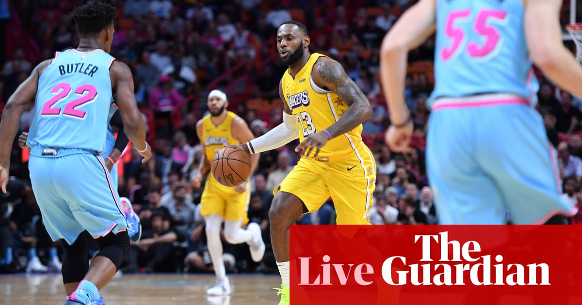 NBA finals 2020 Game 1: Miami Heat v Los Angeles Lakers – live! - the guardian