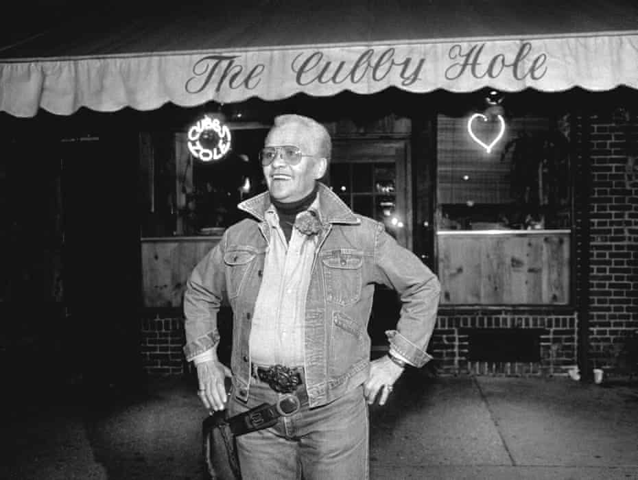Stormè DeLarverie working as a bouncer at The Cubby Hole Bar, NYC, 1986