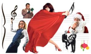 Left to right: Tim Minchin, Miles Davis, Kate Bush, Simon & Garfunkel and Shane MacGowan.