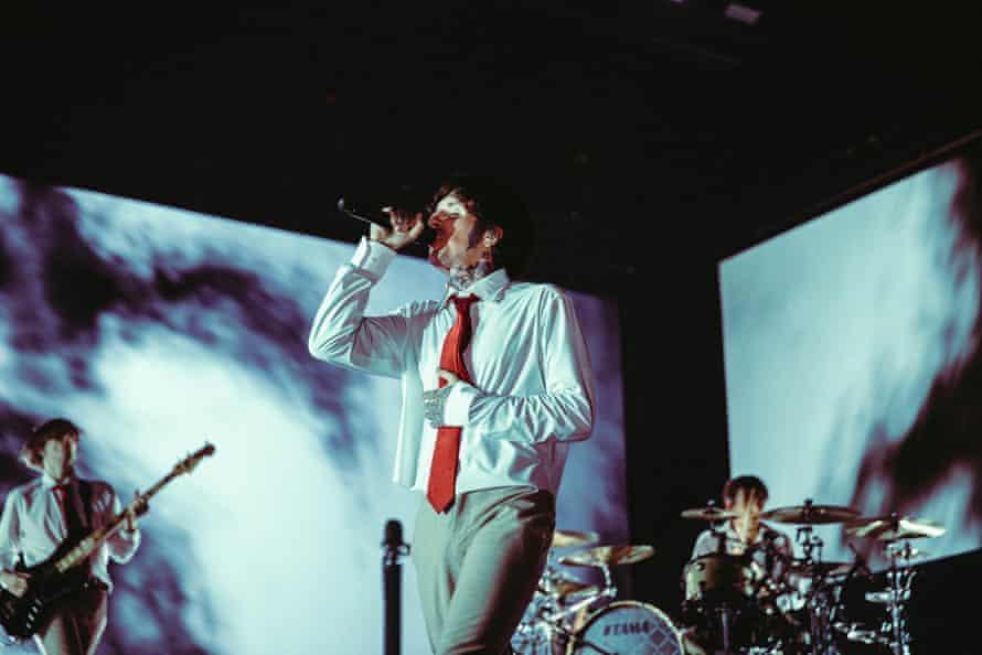 Bring Me the Horizon performing in Hull.