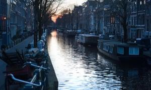 Amsterdam … setting for Midwinter Break.